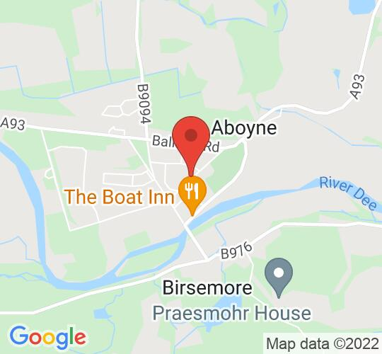 Google map static shot of Aboyne and Dinnet Church, Aboyne, AB34 5HE