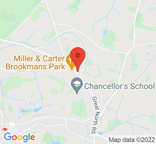 Google map static shot of The Dutch Nursery Ltd, Potters Bar, AL9 6ND