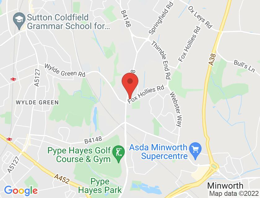 Google map static shot of Walmley Club ( OVER 18`s ONLY ), Sutton Coldfield, B76 2RJ
