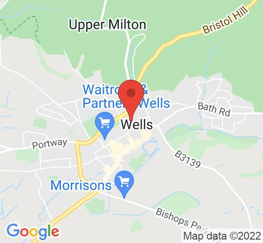 Google map static shot of Cedars Hall, Somerset, BA5 2LQ