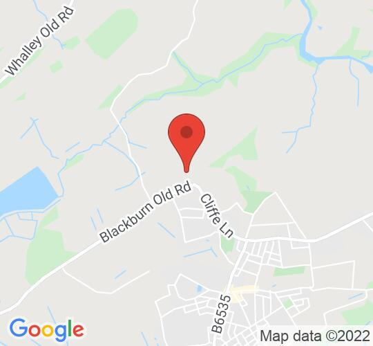 Google map static shot of Great Harwood Cricket Club, Blackburn, BB6 7PQ