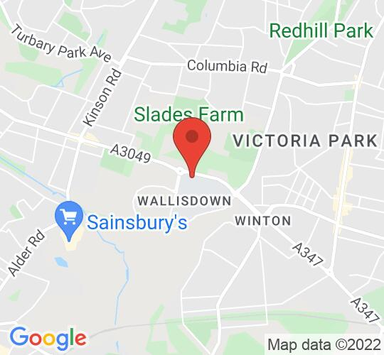 Google map static shot of Fusion Building: Create Lecture Theatre, Bournemouth University, BH12 5BB