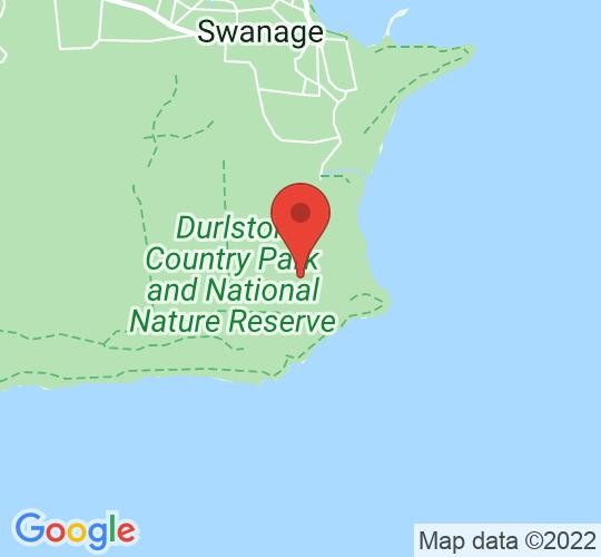 Google map static shot of Learning Centre, Durlston County Park, Swanage, BH19 2JL