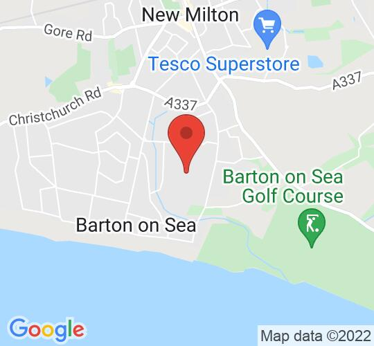 Google map static shot of Durlston Court Prep School, Durlston Court School, BH25 7AQ