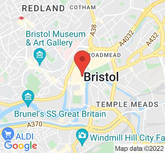 Google map static shot of The Trap (formerly Le Cav), Bristol., BS1 1JH