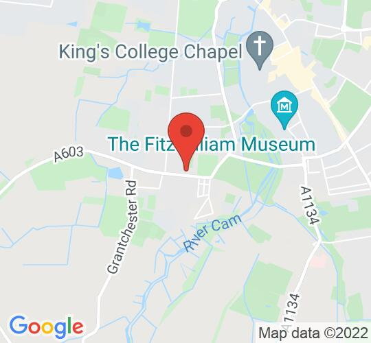 Google map static shot of The Red Bull, Cambridge, CB3 9JZ