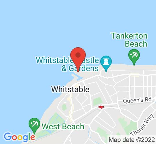 Google map static shot of The Shuck, Whitstable, CT5 1AB
