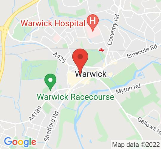 Google map static shot of The Collegiate Church of St Mary, Warwick, Warwick, CV34 4RA