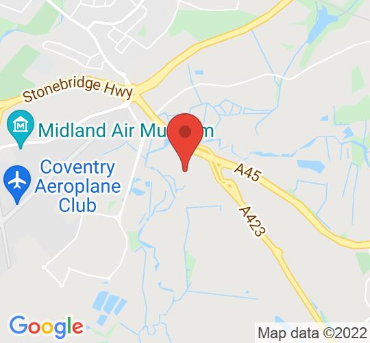 Google map static shot of Citrus Hotel Coventry by Compass Hospitality, Coventry, CV8 3DY