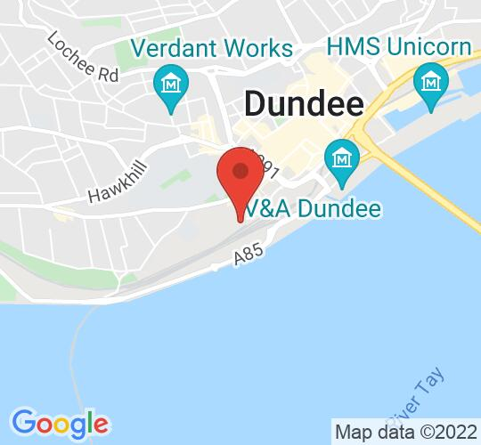 Google map static shot of Dundee Science Centre, Dundee, DD1 4QB