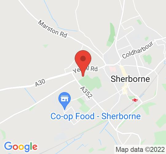 Google map static shot of Sherborne Girls' School - Concert Hall, Sherborne, DT9 3QN
