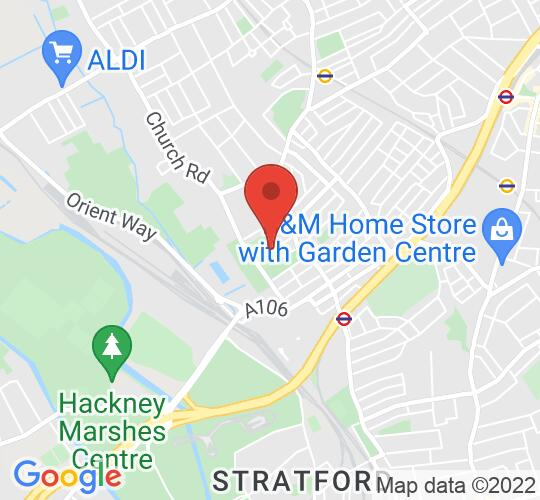 Google map static shot of Leyton Orient FC, London, E10 5NF