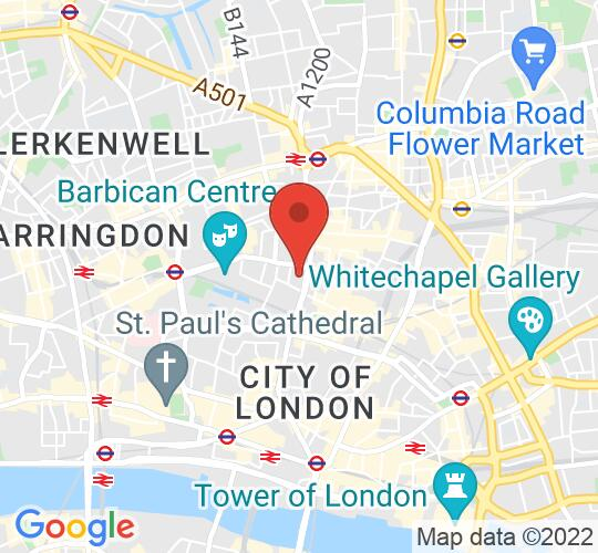 Google map static shot of Lutron European Experience Centre, 4th Floor, London, EC2A 1NQ