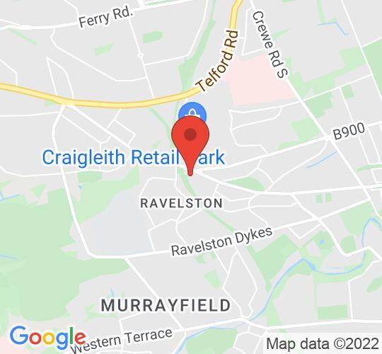 Google map static shot of Holiday Inn Edinburgh City West, Edinburgh, EH4 3HL