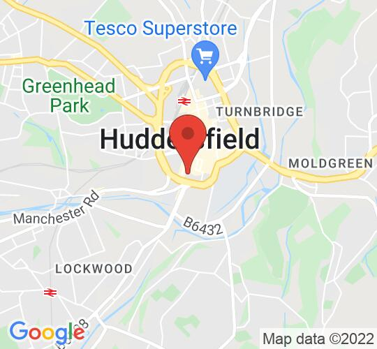 Google map static shot of Small Seeds, Huddersfield, HD1 2UD