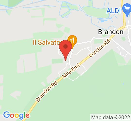 Google map static shot of IES Breckland, Brandon, IP27 0NJ
