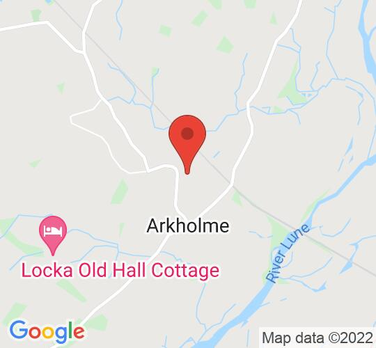Google map static shot of Arkholme Village Hall, Cumbria, LA6 1AT