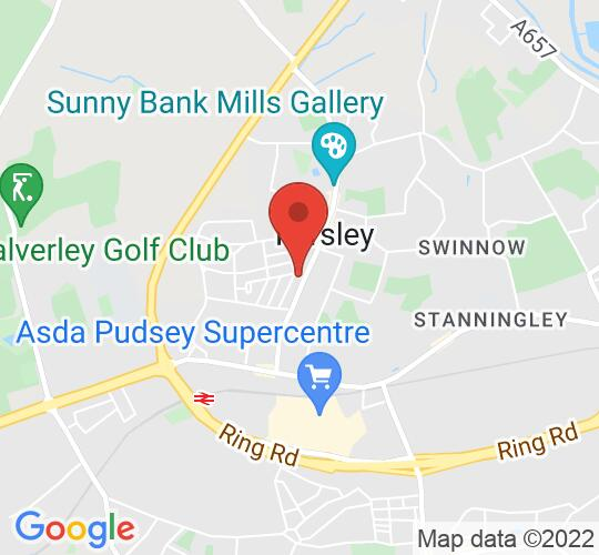 Google map static shot of Farsley Library - Meeting Room, Leeds, LS28 5DH