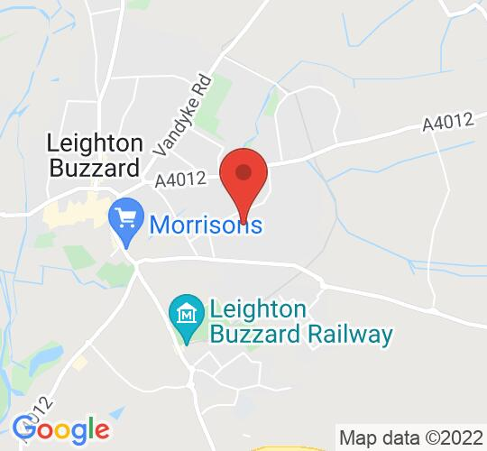Google map static shot of Brooklands Middle School, Bedfordshire, LU7 3PF