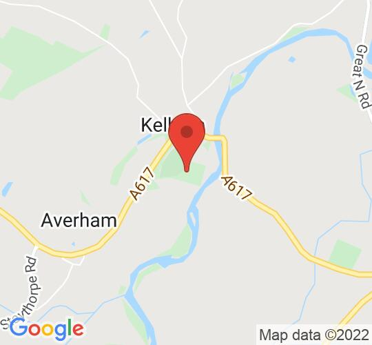 Google map static shot of Kelham Hall & Country Park, Nottinghamshire, NG23 5QX