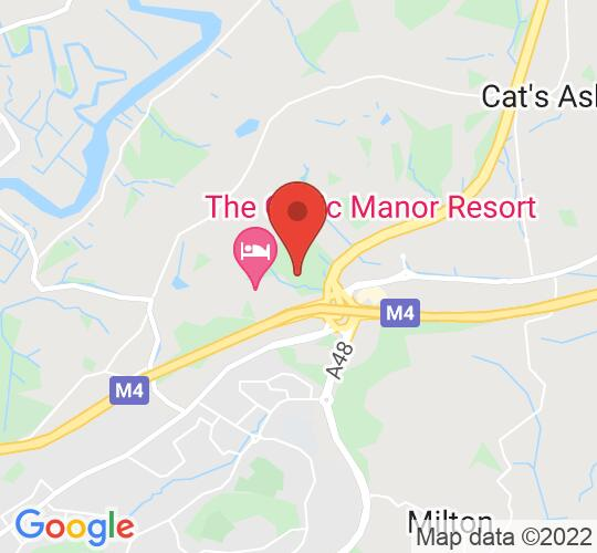 Google map static shot of International Convention Centre Wales, Newport, NP18 1HQ
