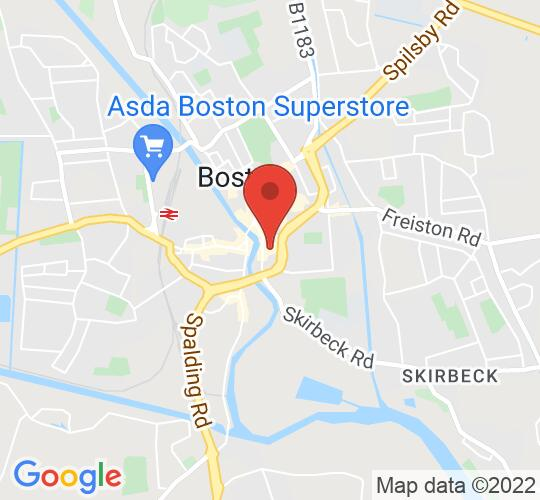 Google map static shot of Blackfriars Arts Centre Ltd, Boston, PE21 6HP