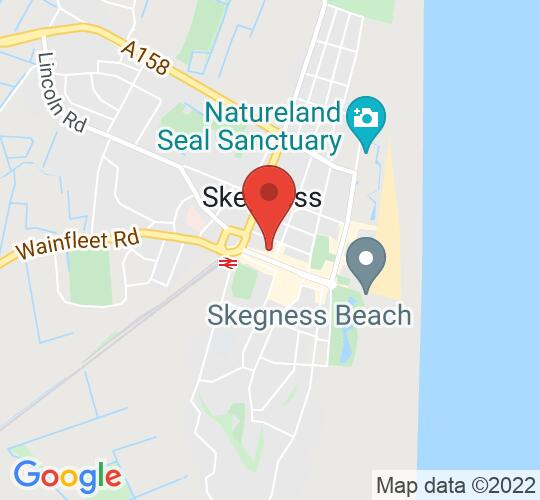Google map static shot of Neverland Theatre, Lincolnshire, PE25 2BD