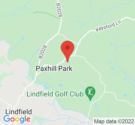 Google map static shot of Paxhill, Lindfield, RH16 2QS
