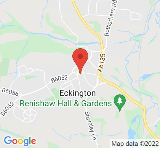 Google map static shot of Eckington Civic Centre, South Yorkshire, S21 4JG