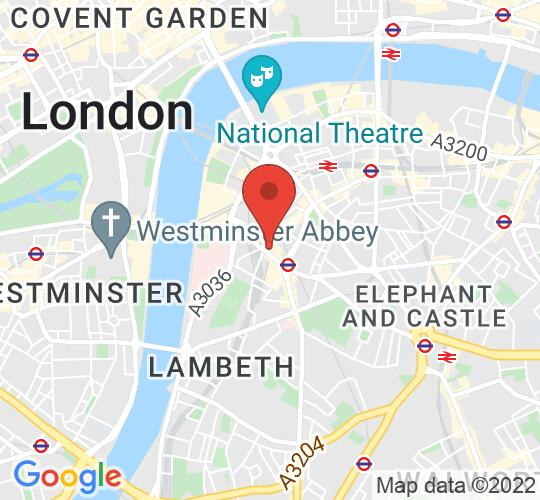 Google map static shot of The Horse & Stables, London, SE1 7RW
