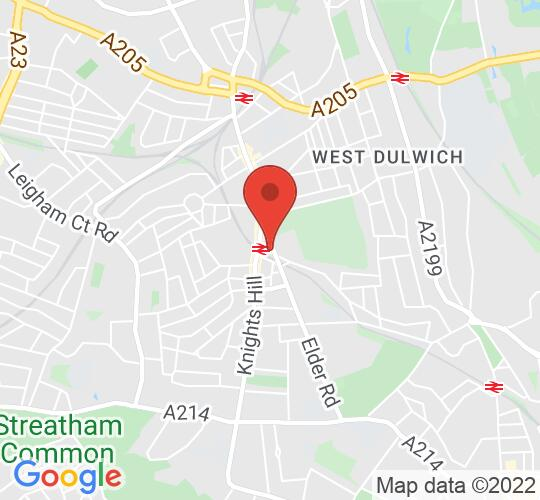 Google map static shot of The Old Fire Station, West Norwood, SE27 9NS