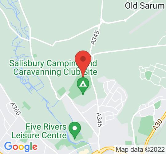 Google map static shot of Hudsons Feild, Salisbury, SP1 3SB