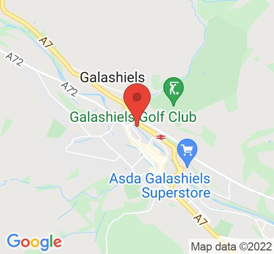 Google map static shot of MacArts, Galashiels, TD1 1SP