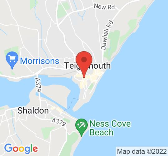 Google map static shot of Ice Factory Teignmouth, Teignmouth, TQ14 8EN