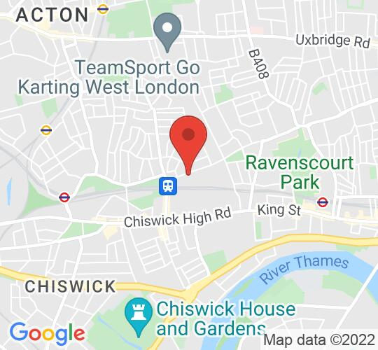 Google map static shot of Arts Educational Schools, London W4 1LY, W4 1LY