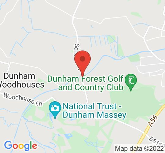 Google map static shot of Dunham Massey Village Hall, Dunham Massey, WA14 4SD